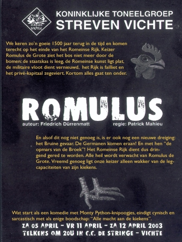 """romulus single men Growth 4 """"i found them,"""" said the shepherd simply, offering the babies to his wife she wrapped them in a fleece and lay down with them one on either side."""